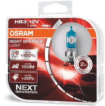 Osram Night Breaker Laser HB3 Next Gen (9005NL-HCB)