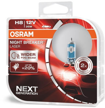 Osram Night Breaker Laser H8 Next Gen (64212NL-HCB)