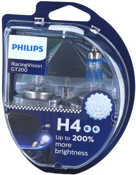 Philips RacingVision GT200 H4 Duo-Set (12342RGTS2)