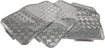 HP-Autozubehör Fußmatten-Set Riffelblechdesign (16132)