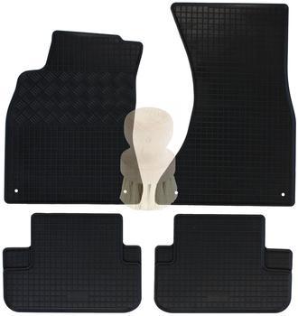 Zentimex Gummifußmatten für Audi (2tlg)