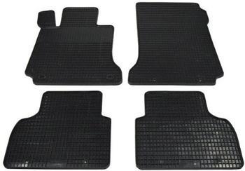 Zentimex Gummifußmatten für Mercedes (2tlg)