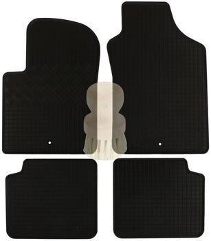 Zentimex Gummifußmatten für Fiat (4tlg)