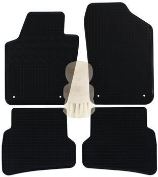 Zentimex Gummifußmatten für Seat (4tlg)