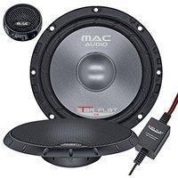 Mac Audio Star Flat 2.16 - ultraflacher 2-Wege Kompo System Einbaulautsprecher, Car HiFi LS:Kompo-165mm