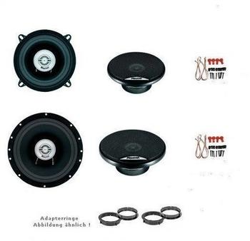 Mac Audio Audi A3 bis 4.2003, Lautsprecher Boxen, Tür vorne und Seitenteil Heck