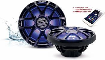 Caliber Audio Technology CSM20RGB/B 2-Wege Koaxial-Einbaulautsprecher 160W Inhalt: 2St.
