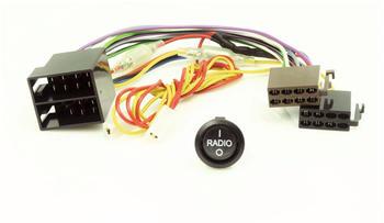 Caratec Connect CI200A Stromadapter Radio Ein/Aus Wippschalter