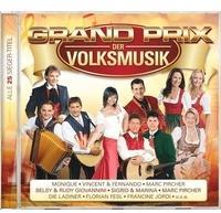 MCP Sound Grand Prix der Volksmusik-Alle 25 Sieger-Titel (CD)