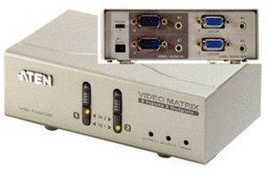 Aten VS0202 VGA Matrix Switch 2x2