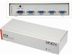 Lindy VGA Splitter PRO 4 Port