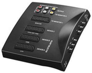 Goobay 27430 AVS 1 AV Umschaltbox