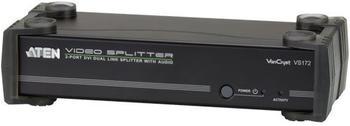 Aten VS172 DVI Dual Link A/V-Splitter 1:2