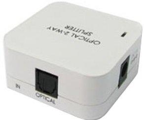 Lindy 70407 Audiosplitter Toslink SPDIF Digital 2 Port