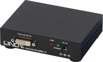 Lindy 38107 DVI Splitter Dual Link 1:2