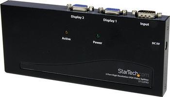 StarTech ST122PRO VGA Splitter 1:2 350MHz