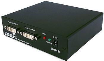 Lindy 38104 DVI Splitter Dual Link 1:4