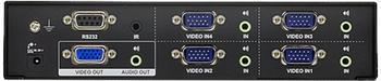 Aten VS0401 VGA Switch 4:1 mit Audio