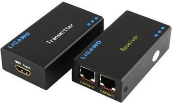 Ligawo 6518506 DVI/ HDMI Extender bis 30m