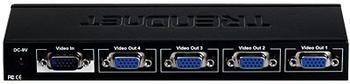 TRENDnet TK-V401S VGA Splitter 1:4