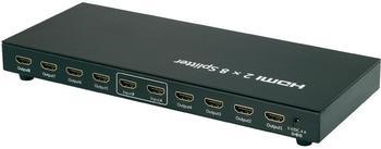 Speaka Professional HDMI Splitter 2:8