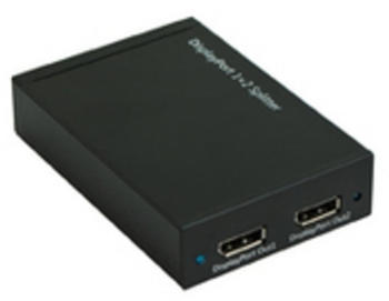 MicroConnect 2-Port DisplayPort Splitter DPS12