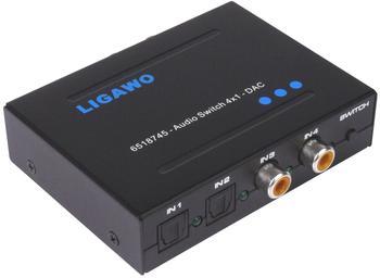 Ligawo 6518745 Audio Switch 4x1