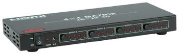 Roline 14.01.3567 HDMI Matrix Switch 4x4