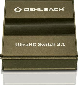 Oehlbach 6045 UltraHD Switch 3:1