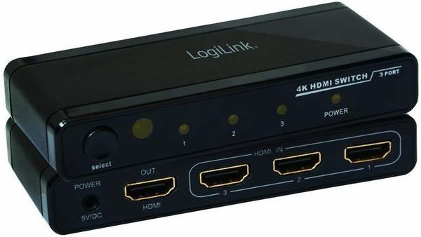 LogiLink 4K HDMI Switch HD0012