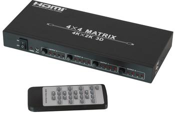 Lindy HDMI 4K UHD 4x4 Matrix (38152)