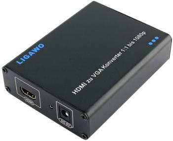 Ligawo DVI + HDMI - VGA Konverter 6526619