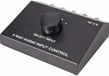 Speaka Professional 4 Port Cinch-Audio-Switch SpeaKa Professional (1435387)