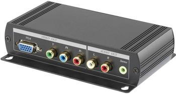 Speaka Professional SpeaKa HDMI zu VGA/Component Konverter (1277010)