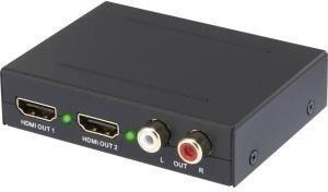 Speaka 2 Port Audio Extraktor SP-AE-HDCT-2P