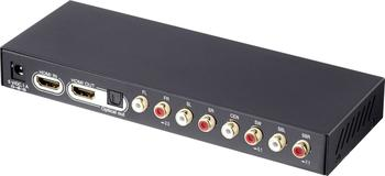 Speaka Professional AV Extraktor HDMI - HDMI / Toslink / 8 Kanal Cinch