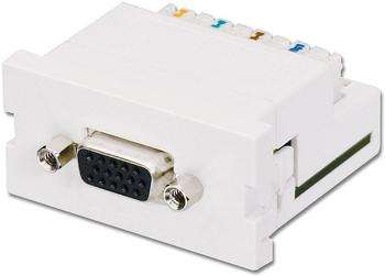 Lindy 60538 VGA Cat.5 Extender Snap In Module