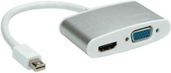 Roline Mini DisplayPort zu HDMI / VGA Videokonverter (12.03.3161)