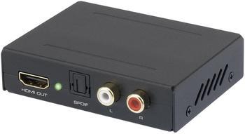 Speaka Professional Audio Extraktor [HDMI - HDMI, Toslink, Cinch] (29063c25)