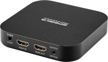 Speaka Professional Audio Extraktor (HDMI - HDMI, Toslink)