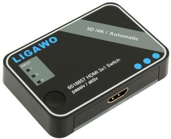 Ligawo 3 Port HDMI Switch (6518857)