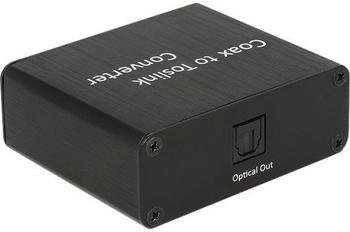 DeLock Audio Koaxial zu Toslink Konverter (62790)