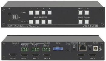 Kramer 4 x 2 Matrix HDMI Switch (VS-42UHD)