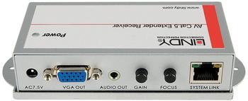 Lindy 32765 VGA & Audio Cat.5/6 Extender Receivereinheit 250m
