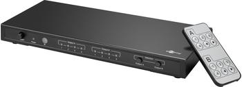 Goobay 4 x 2 Matrix Ultra HDMI Switch