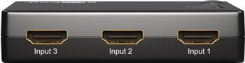 Goobay 3 Port HDMI Switch
