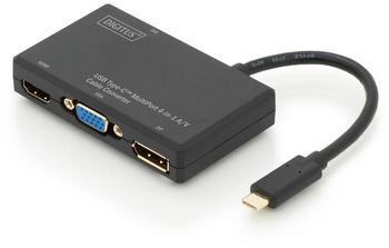 Digitus USB Type-C 4in1 Multiport Video Konverter (DA-70848)
