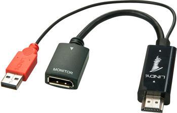 Lindy HDMI auf DisplayPort Konverter mit USB-Stromversorgung