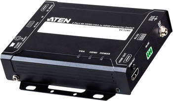 Aten 2-Port 4K HDMI/VGA to HDMI Converter Switch