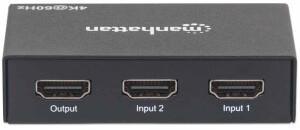 Manhattan 4K 2-Port HDMI-Switch (207867)